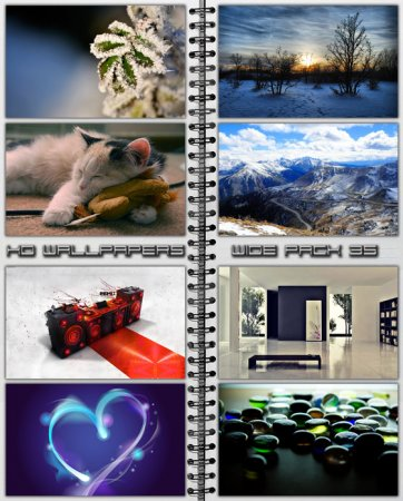 HD Wallpapers Wide Pack №35