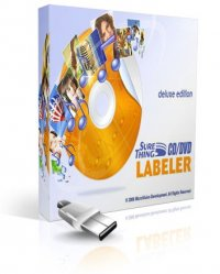 SureThing CD DVD Labeler Deluxe 5.2 Portable