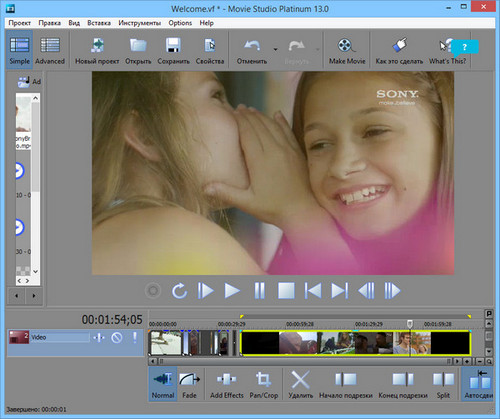 Sony Vegas Movie Studio 13