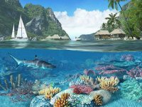 Caribbean Islands Screensaver 3D  1.1.0.4